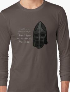 Then I Took an Arrow in the Knee Long Sleeve T-Shirt
