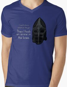 Then I Took an Arrow in the Knee Mens V-Neck T-Shirt