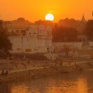 Holy Lake of Pushkar by Brian Bo Mei