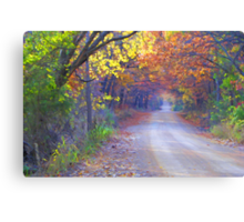 On A Lovely Fall Day Canvas Print