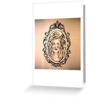 a lady's companion Greeting Card
