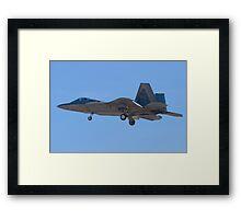 WA AF 04-4071 F-22A Raptor Framed Print