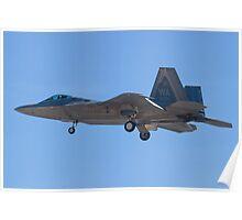 WA AF 04-4071 F-22A Raptor Poster