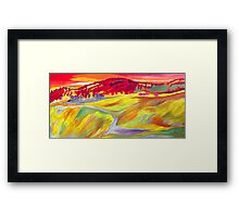 An Abstract Delusion Framed Print