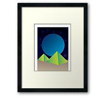 Peaceful Sky Framed Print