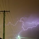 Perth Lightning 2011 by Daniel Fitzgerald