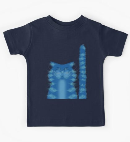 RIBBAR THE CAT Kids Tee