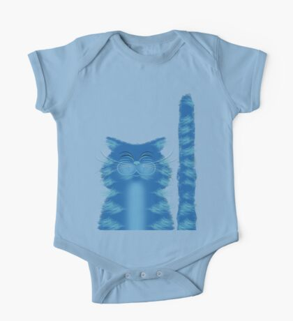 RIBBAR THE CAT One Piece - Short Sleeve