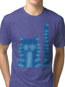 RIBBAR THE CAT Tri-blend T-Shirt