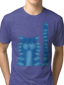 RIBBAR THE CAT Tri-blend T-Shirt