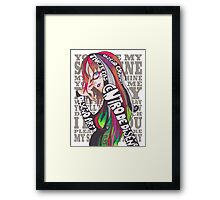 Graphic Designer Promotion Framed Print