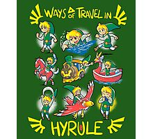 Ways of travel in hyrule Photographic Print