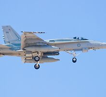 #A21-34 RAAF F/A-18A Hornet by Henry Plumley