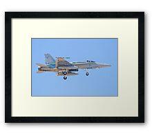 #A21-34 RAAF F/A-18A Hornet Framed Print