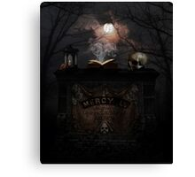 The Legend of Mercy Brown Canvas Print