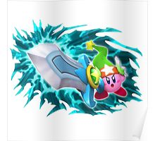 Sword Kirby Poster