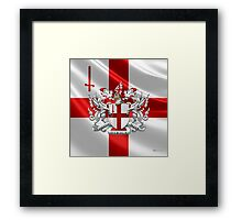 City of London - Coat of Arms  Framed Print