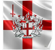 City of London - Coat of Arms  Poster