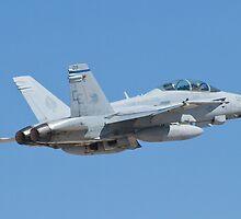 164677 F/A-18D Hornet on Take Off by Henry Plumley
