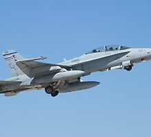 164677 F/A-18D Hornet Taking Off by Henry Plumley