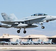 164679 F/A-18D Taking Off by Henry Plumley
