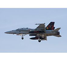 164696 F/A-18D Hornet On Approach Photographic Print