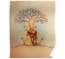 underneath the apple tree Poster