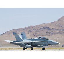 165415 F/A-18D Hornet Landing Photographic Print