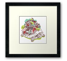 TurTown Framed Print