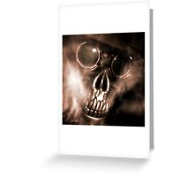 Steam Spectre Greeting Card