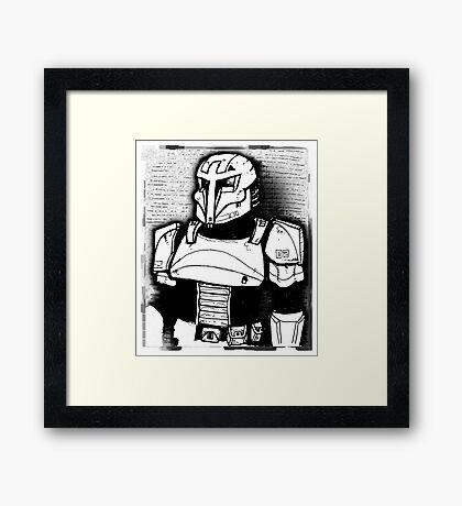 Concept Trooper Framed Print