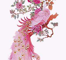 Beautiful Peacock - iphone Case by Carol Knudsen