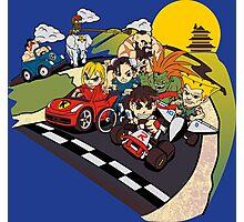 Super Fighting Kart Photographic Print