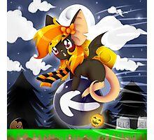 Halloween Vampire Mice Photographic Print