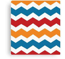 Charizard Pokemon Chevron Canvas Print