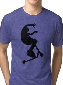 Scooter Trick - No Hander Tri-blend T-Shirt