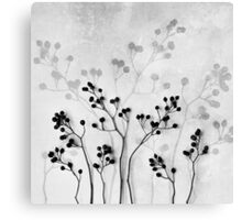 Abstract Flowers 5 Canvas Print