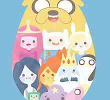 Adventure Time by evapuyal