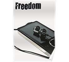Freedom, is Music Poster