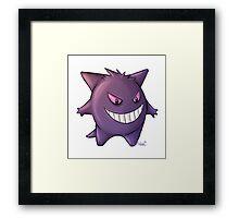 Gengar - Pokemon  Framed Print