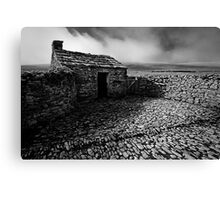 Black Scar House 01 - Yorkshire Dales, UK Canvas Print