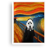 Scream Mash-up Canvas Print