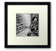 Carry on Screaming Framed Print