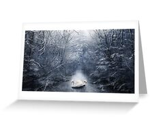 Frozen Time Greeting Card