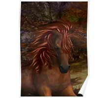 Flame .. A Wild Horse Poster