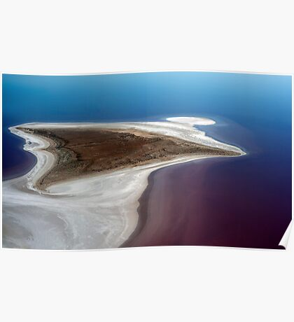 Sting Ray - Lake Eyre Poster