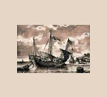 Chinese Junk at Singapore, ca.1800 Unisex T-Shirt