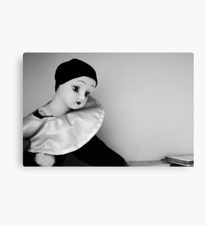 Pierot Doll Canvas Print