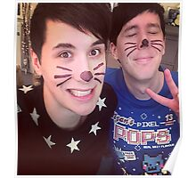 Dan & Phil (requested)  Poster
