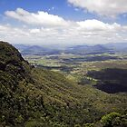 View from Sylvesters Lookout, Goomburra by Tony Steinberg